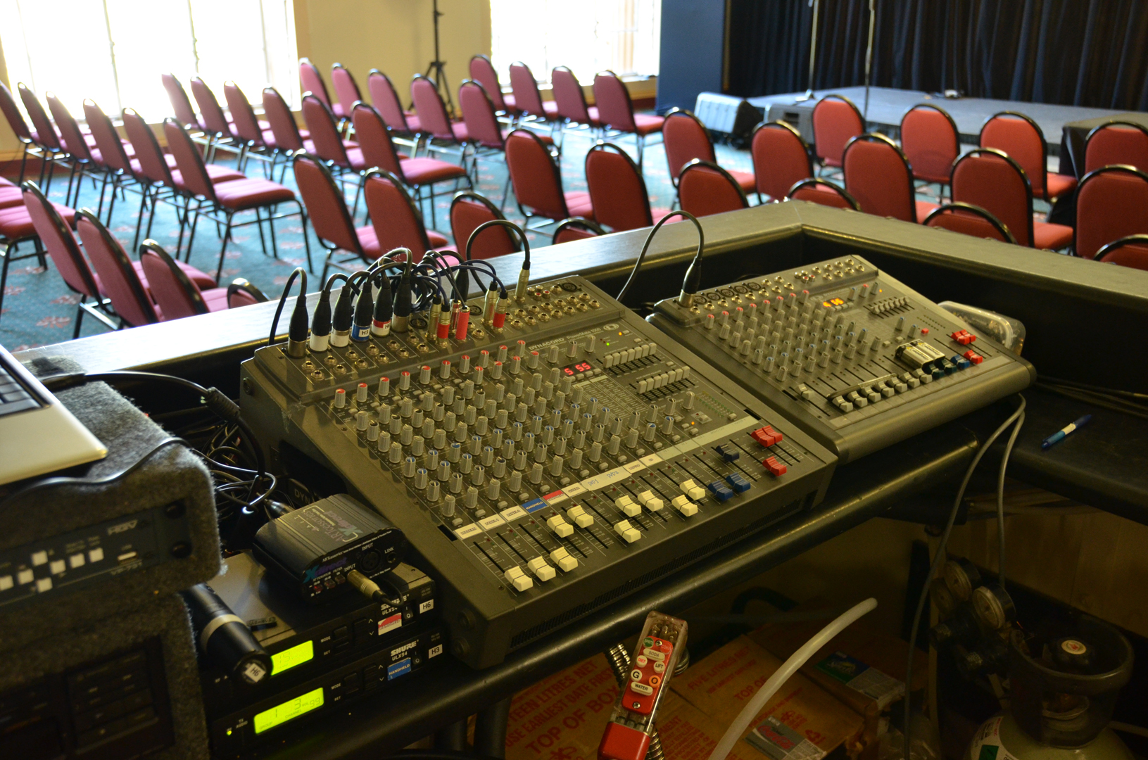 10 CHANNEL SOUND SYSTEMS