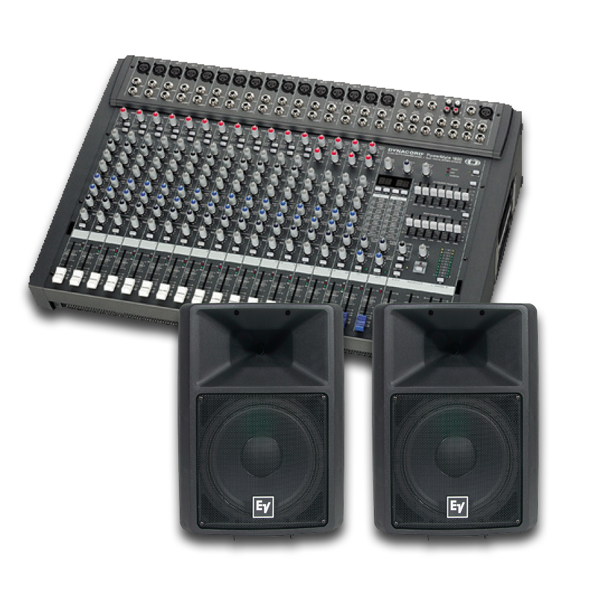 16 CHANNEL SOUND SYSTEMS