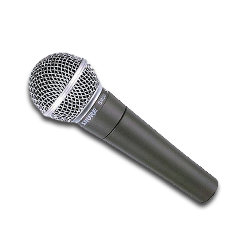 SHURE SM58 CABLE MICROPHONES